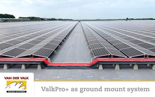 Banner_ValkPro+ ground mount system 3